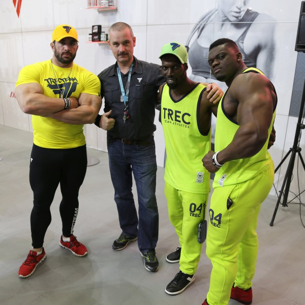 Trec Nutrition at FIBO POWER 2016 - Relation