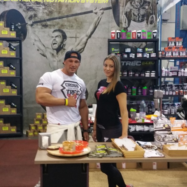Trec at Fitbalance - The biggest fitness expo in Hungary