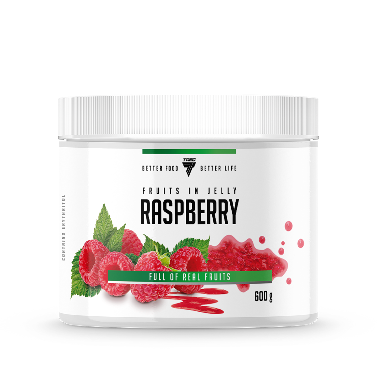 FRUITS IN JELLY 600g RASPBERRY