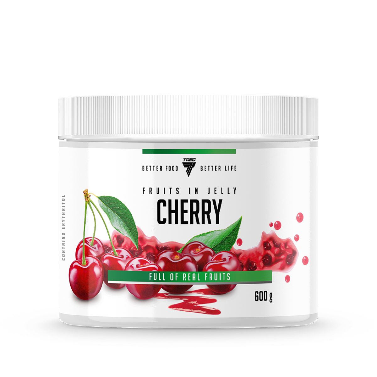 FRUITS IN JELLY 600g CHERRY