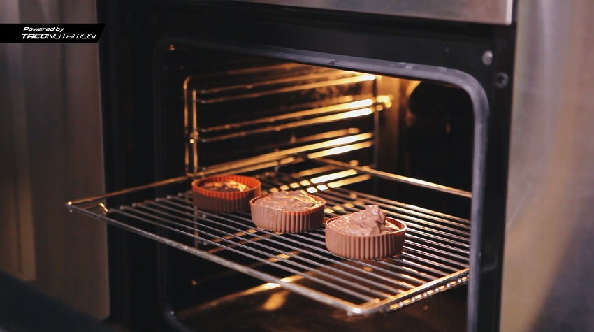 chocolate red bean muffinf cupcakes recipe dietary dish fit fitness bodybuilding whey 100 trec nutrition