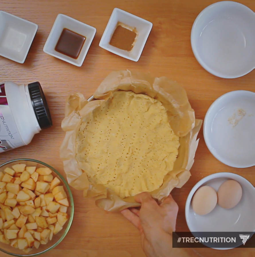 diet recipe, vannilla apple pie, ingredients