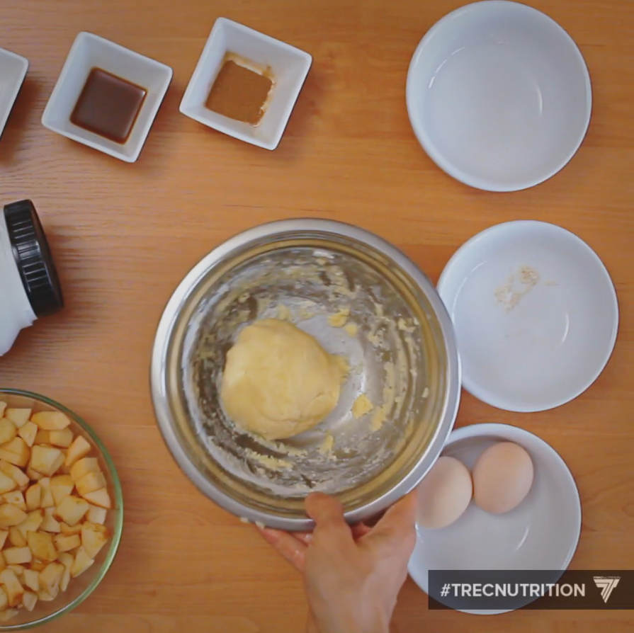 diet recipe, vanilla apple pie, ingredients